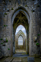 Claregalway Friary Vaulted Crossing, Color